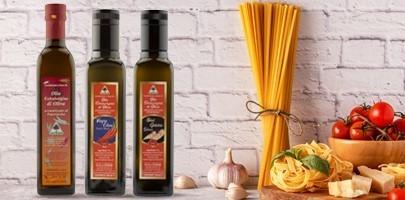 Vendita olio piccante aromatizzato - Oleificio Sapigni Rimini